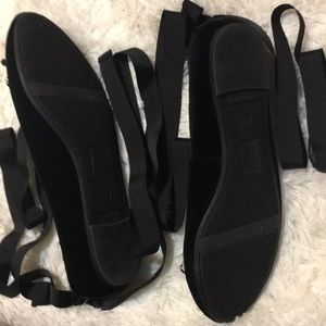libby. edelman Shoes - Black Suede shoes- Libby Edelman.